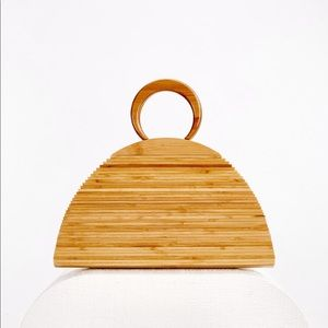 cult gaia - Ally Bamboo Bag - NWT